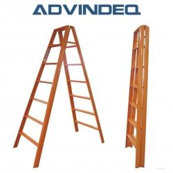 Thang nhôm chữ A Đài Loan 14 bậc Advindeq AV307