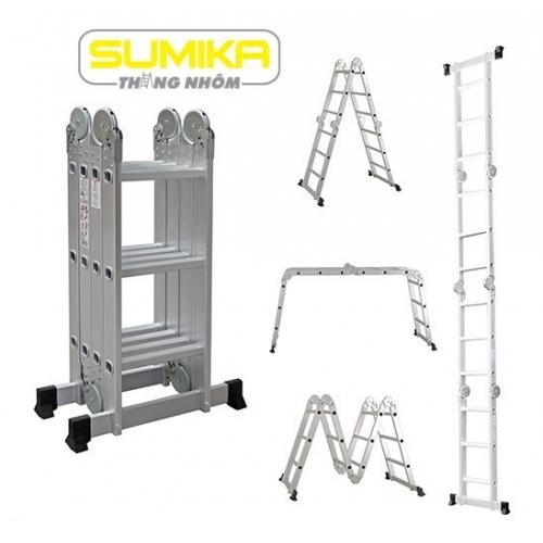 Thang nhôm gấp đa năng Sumika SKM 203